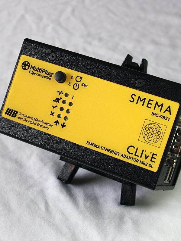 SMEMA Hermes Adaptor on Conveyor